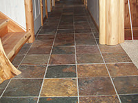 China Slate Hallway Floor