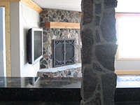 Split Granite Post/Pillar