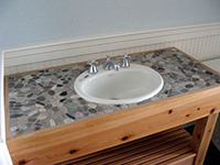 Stone Bathroom Countertop