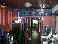 Ceramic Tiled Kitchen