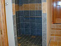 Wheelchair Accessible Shower Stall