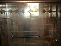 Bathroom Shower with Deco Work